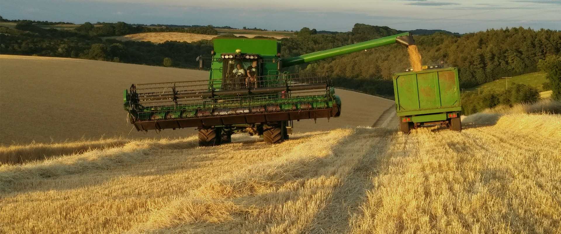 King Agricultural Contracting Services Stubble To Stubble Header